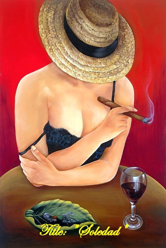 Oil Paintings on Canvas Cuban Art by Bobby Rodriquez from Miami