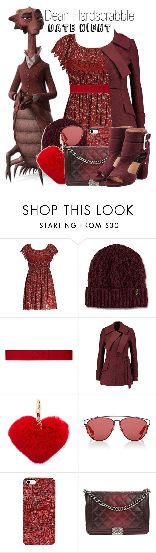 """Dean Hardscrabble~ DisneyBound"" by basic-disney ❤ liked on Polyvore featuring INC International Concepts, Dr. Martens, Paule Ka, Proenza Schouler, Rebecca Minkoff, Christian Dior, Chanel and Laurence Dacade"