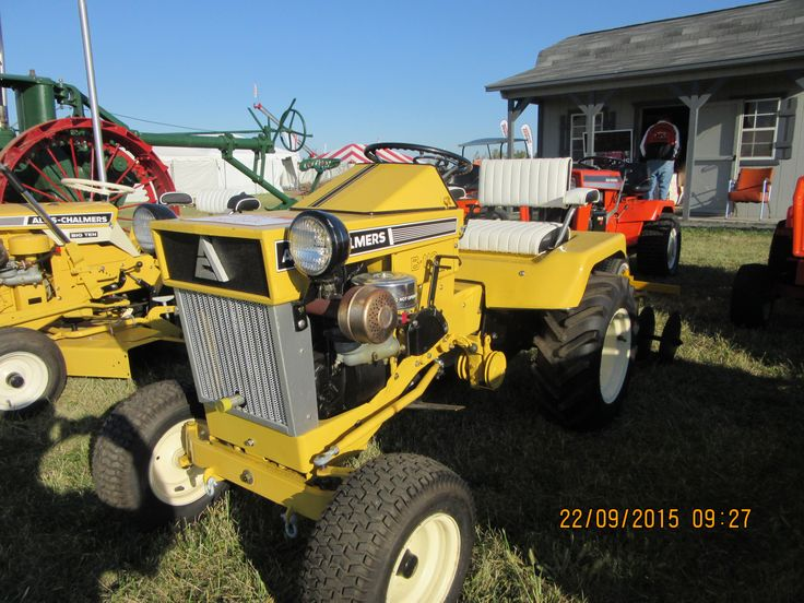 c5f604514a6833b92cb57276049d57f4 allis chalmers tractors lawn 75 best garden tractors images on pinterest lawn, farming and cubs  at bakdesigns.co