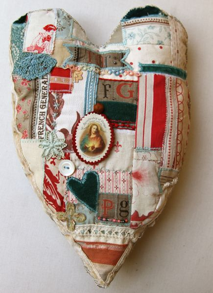 Pam Garrison creation with French General fabrics - super love