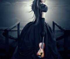 violin photography