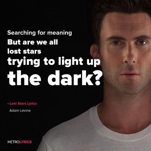 Adam Levine - Lost Stars Lyrics  #AdamLevine #LostStars #Lyrics