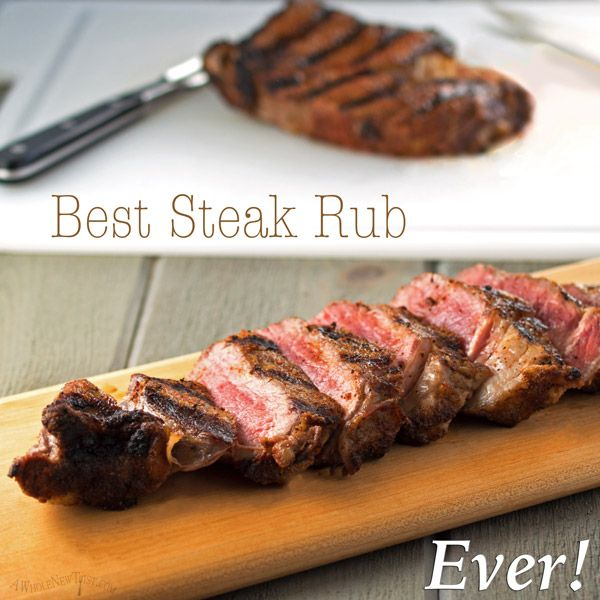 This is seriously the Best Steak Rub Ever! #whole30 | a little goes a long way