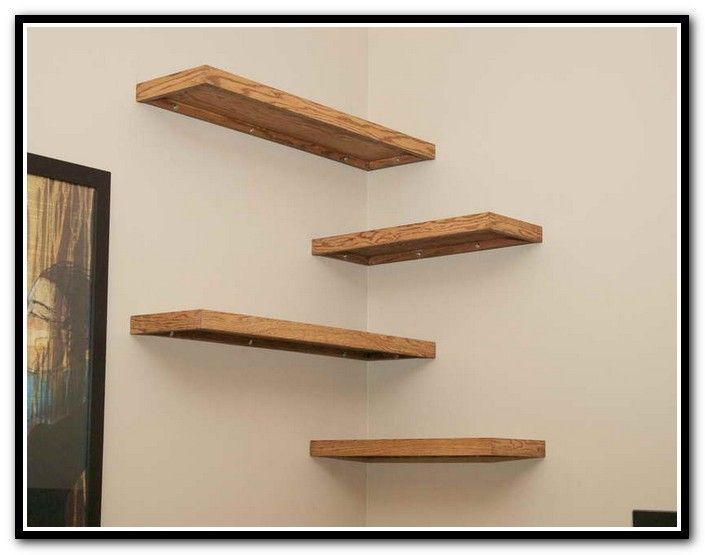 Best 20 corner shelves ideas on pinterest spare bedroom Corner shelf ideas