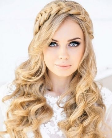 Wedding Guest Hairstyles For Curly Hair : The 25 best wedding guest hairstyles ideas on pinterest