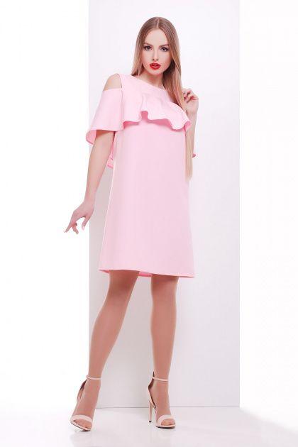 Розовае платье
