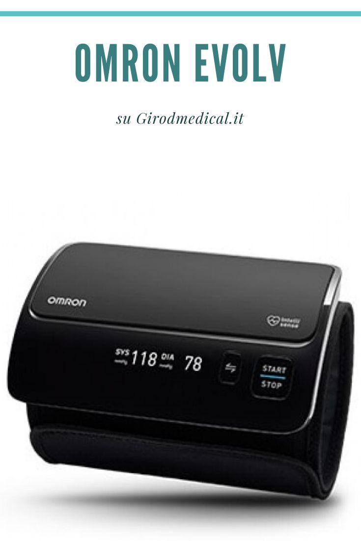 Misuratore di pressione da braccio wireless Omron Evolv..