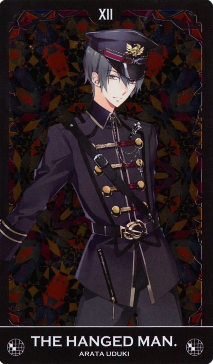 Tsukiuta - Tsukino Empire | Haha I guessed right, he would be the Hanged Man