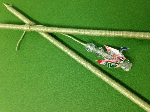 Mint Green Handmade Japanese Origami Paper van PaperSoil op Etsy