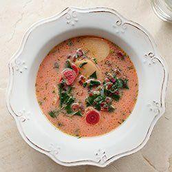 Zupa botwinka z ziemniakami i koperkiem | Kwestia Smaku