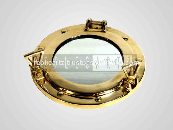 Porthole mirror, Porthole clock, Ship porthole