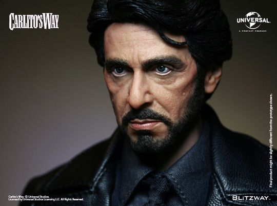 Figurine 1/6 Carlito's Way - Carlito Brigante - Machinegun.fr