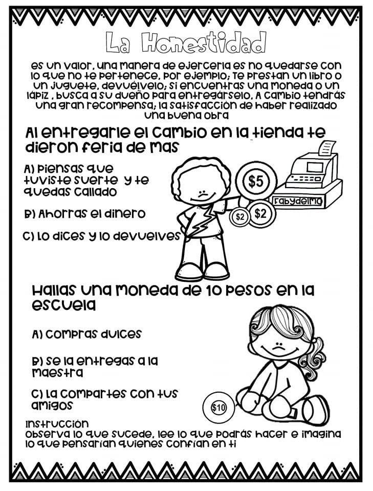 Pin De Yaneth Gutierrez En Buenos Hábitos Y Modales Educación De Valores Manualidades De La Biblia Para Niños Dibujos De Los Valores