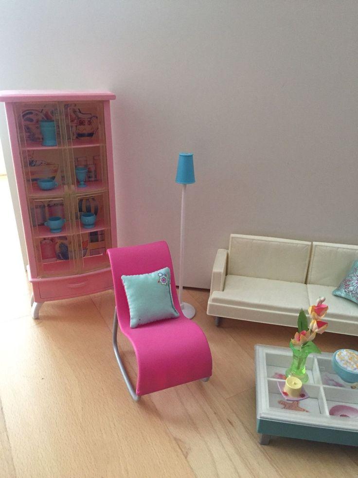 barbie m bel in spielzeug puppen zubeh r mode spielpuppen zubeh r ebay kelly barbie. Black Bedroom Furniture Sets. Home Design Ideas