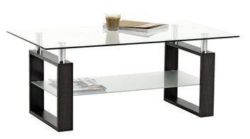 Sofabord NYBORG metal/glas | JYSK