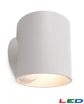 CIRC COB LED 7W 3000K 326lm Wandleuchte Weiß