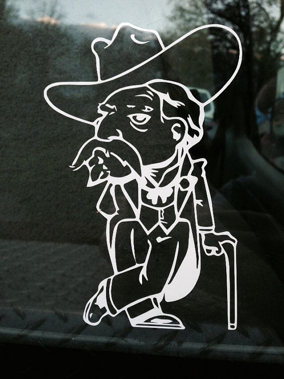 Ole Miss Colonel Reb decal
