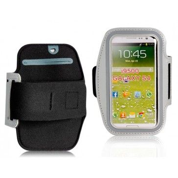 Sports Active White Armband Samsung Galaxy S4 Case