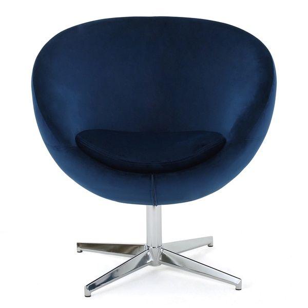 isla velvet fabric roundback modern chair by christopher knight home nail chairsroom