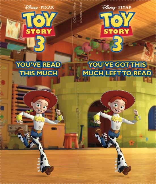 Toy Story Bookmarks 8