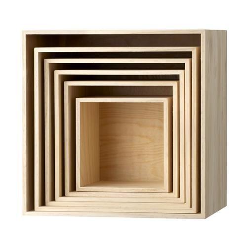 BOX - Komplet sześciu półek fafarafa 570zl