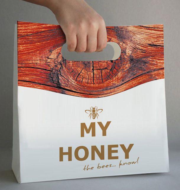 My Honey on Packaging of the World - Creative Package Design Gallery * www.raniosarri.com Ranio Graphic Art Workshop