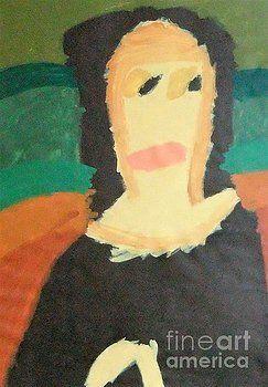Mona Lisa 2014 - after Leonardo da Vinci by Patrick Francis