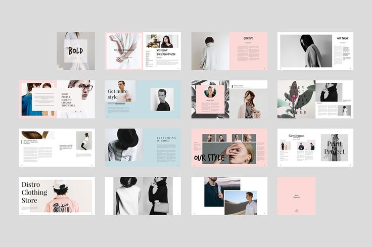 Bold Magazine is amazing fashion & lifestyle magazine with 30 pages with variation layout for mix and match page. This Is for publication magazine, portfolio, photography, and more. With Square Size (8x8in).