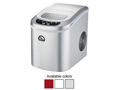 The Igloo Portable Countertop Ice Maker can churn out up to 26 lbs. of ice in a 24-hour period. And with its 2 lb. capacity ice basket, it's just the right size for bringing along to parties no matter the season!