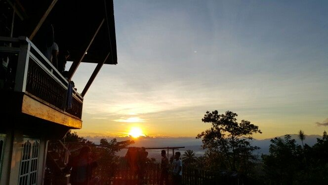 Morning sun from the hill...#pagaralam