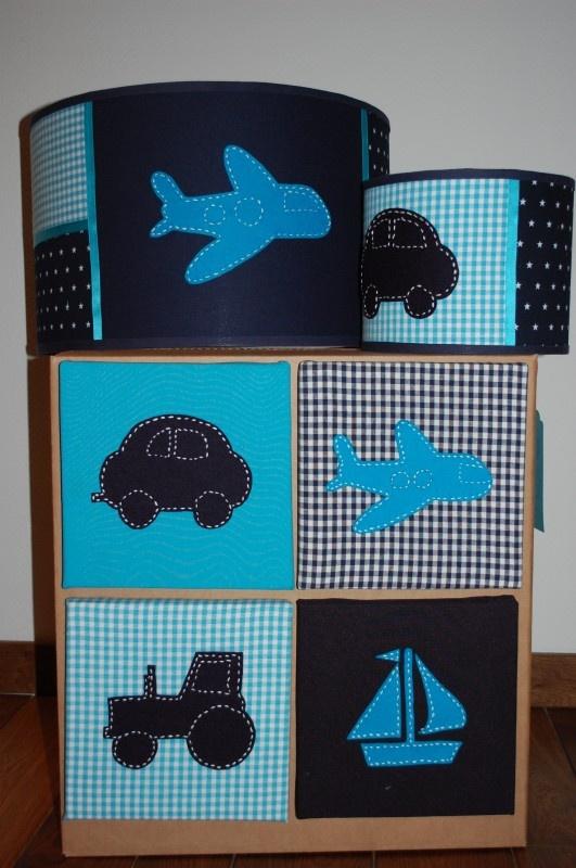 Complete Set Voertuigen Blauw