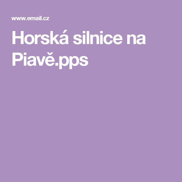 Horská silnice na  Piavě.pps