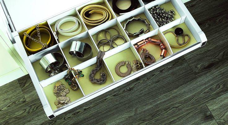 Szuflada GTV z organizerem daje możliwość zachowania porządku w każdej szafie :) Nasza ulubiona ♥♥♥