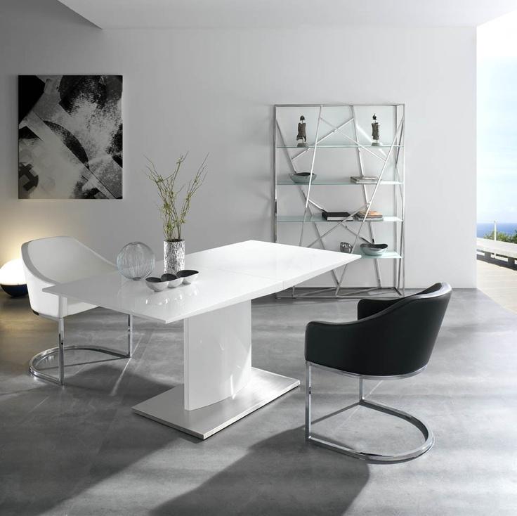 Mesa de comedor extensible ngl0001 muy bonita me quedo - Decoracion mesa comedor ...