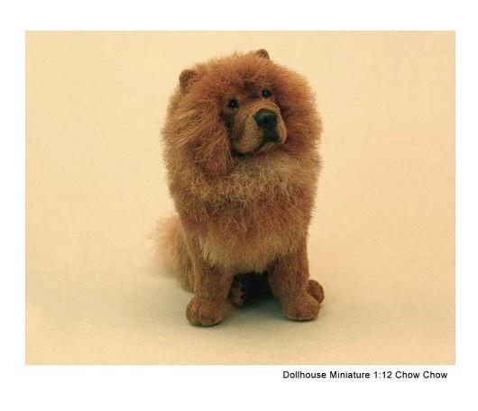 Dollhouse Miniature Chow Chow - Kerri Pajutee - 1614534