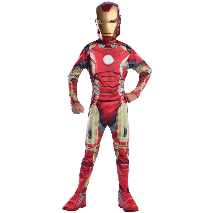 Iron Man Mark 43 Child Large
