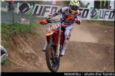 Motocross France 2012 Saint Jean d'Angely :Antonio Cairoli .
