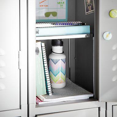 22 best locker decorating ideas images on pinterest locker ideas gear up silver locker shelf potterybarnteen locker shelvesdiy lockerlocker ideaslocker solutioingenieria Gallery