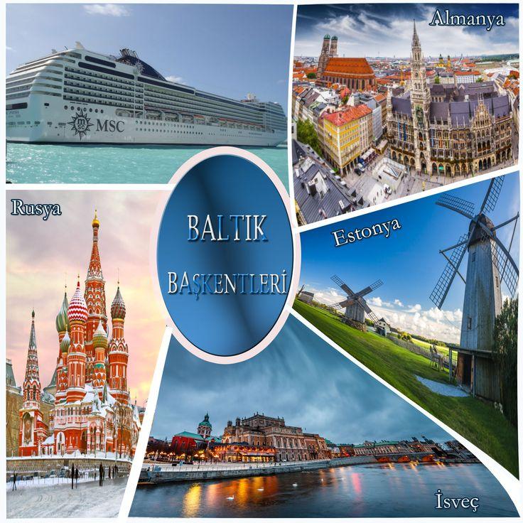 Göller Ülkesi Estonya, Ortaçağ Masallarıyla Almanya, Dünyanın Akciğerleri Görevini Üstlenen Rusya, Gördüğünüz ve Göreceğiniz En Güzel Kutup ışıklarıyla İsveç, 4 Baltık Başkenti.  Her limanda ayrı güzellik, her limanda farklı duygular. 7 Gece, 8 Gün Baltık Başkentlerini Görmek İster misiniz ?  http://outgoing.turaturizm.com/index/detay/83/1244/10954/9/14/msc-poesia-ile-baltik-baskentleri/