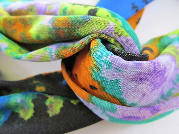 Stretchy Yoga Headbands: Pleated & Turban Styles | Sew4Home
