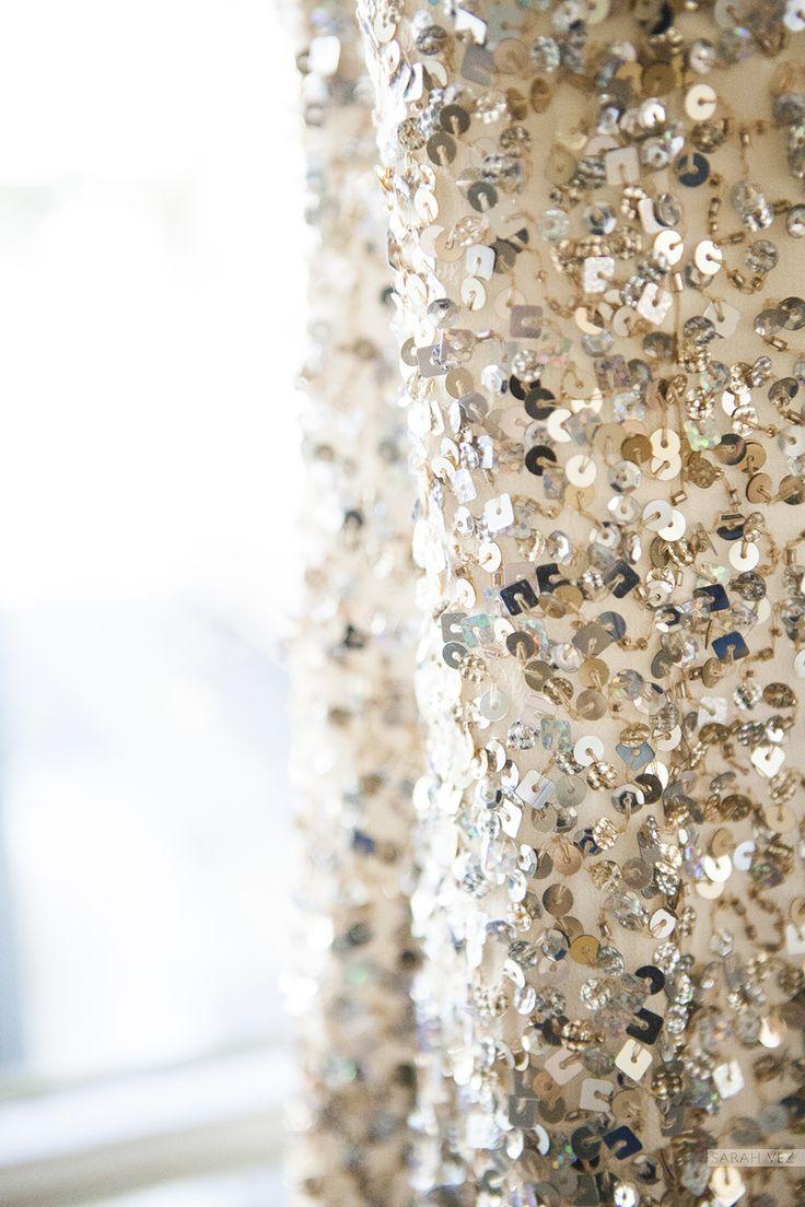 #Detail #sequin #dress #wedding