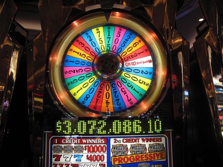 wheel of fortune slot machine casino