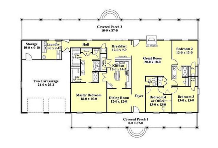 Top 25 best southern ranch style homes ideas on pinterest for Southern style ranch home plans