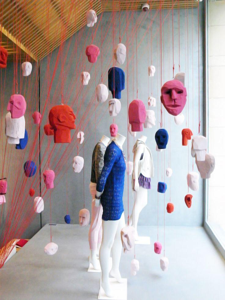 arnold goron: suspended heads
