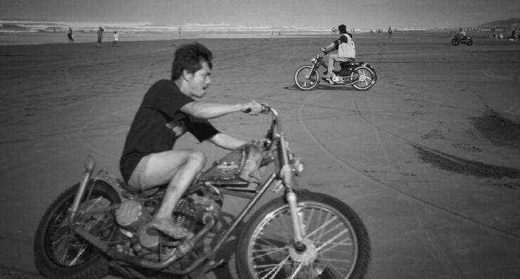 #chopper #bobber #choppycub #streetcub #japstyle #bratstyle #caferacer #kustombike #kustomkulture #tracker #boardtracker #trigramyama
