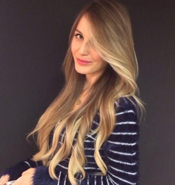 Hande sarıoğlu saç rengi- by makas nişantaşı- istanbul- ombre- kumral- sarışın- doğal saç renkleri- brunette- bronde- natural hair color