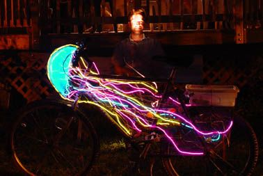 decorating bikes for burning man - Google Search