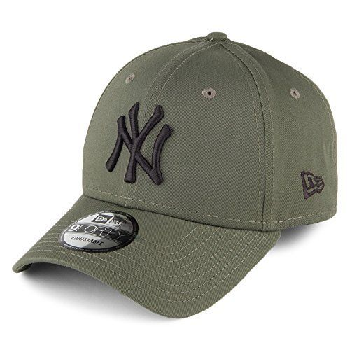 Casquette 9FORTY League Essential New York Yankees olive-noir NEW ERA