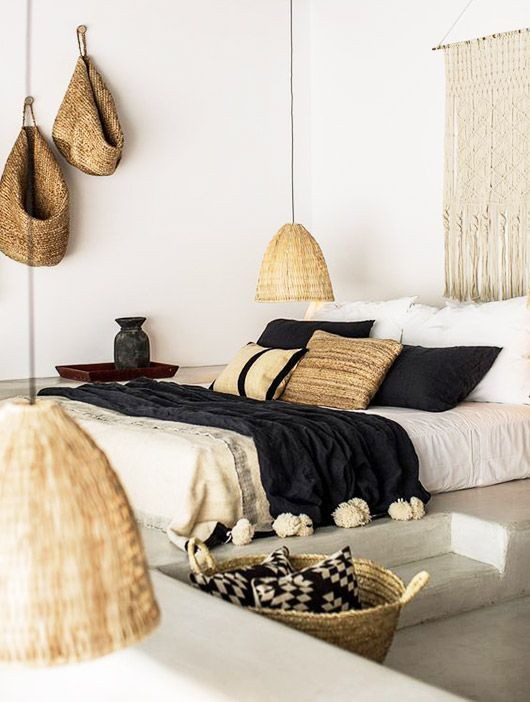 woven beachy home decor / sfgirlbybay