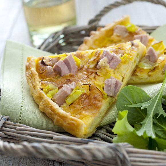 Torta salata con tonno e porri! #ricetta #provato